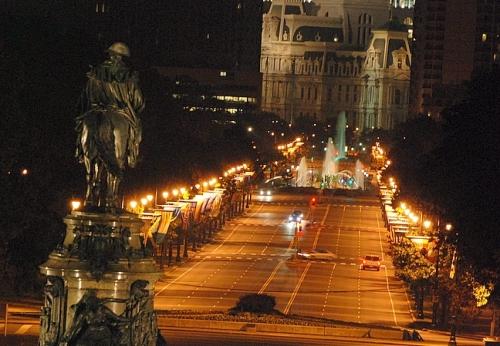 Philadelphia City Hall & Ben FranklinParkway