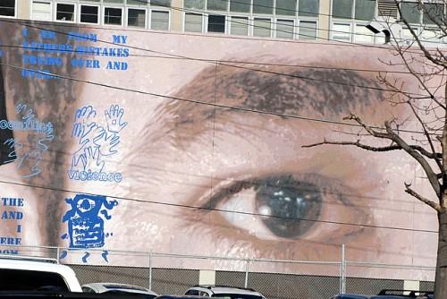 Eye of the mural