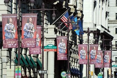 Cyrano banners, Philadelphia