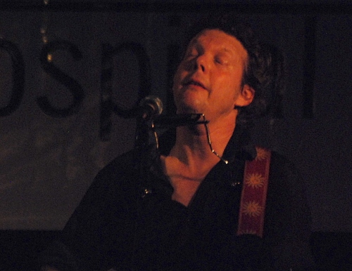 "Steve Forbert croons ""Some Enchanted Evening.\"""