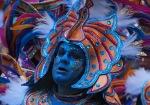 Mummers - Egyptian blue face