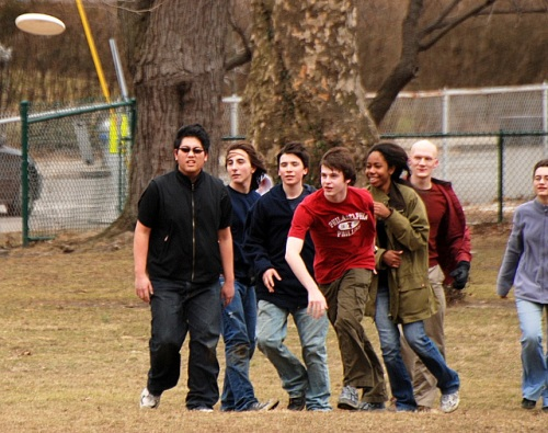 Frisbee kids