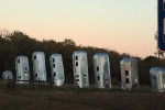 RV art along Interstate 4, Dover, Fla.