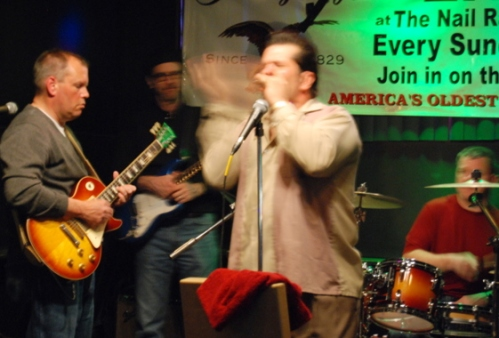 Blues night, The Nail, Ardmore, PA