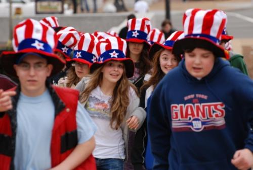 Long Island kids in Washington, DC