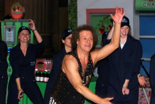 Richard Simmons, 30th Street Station, Philadelphia, April 2, 2009.