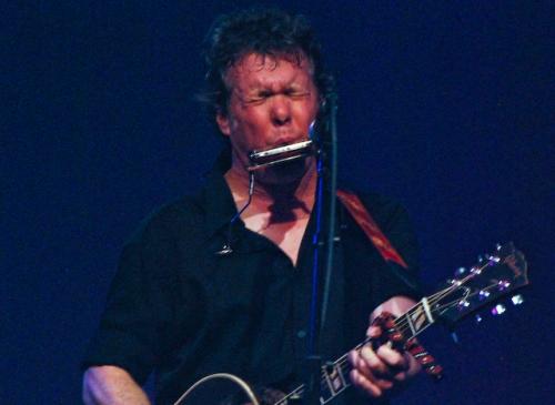 Steve Forbert, harmonica man