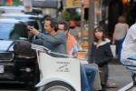 Pedicab passengers