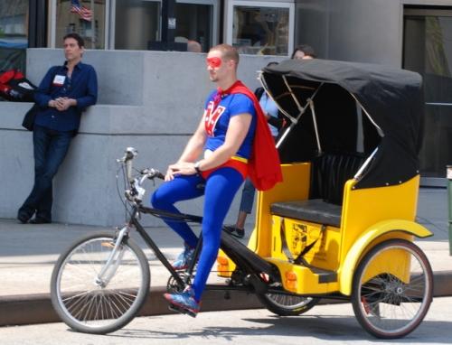 Pedicab, New York City