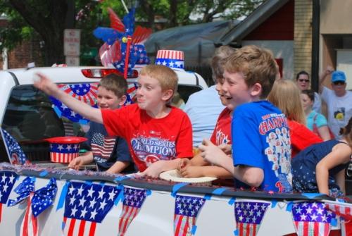 Memorial Day parade, Narberth, PA, 2009