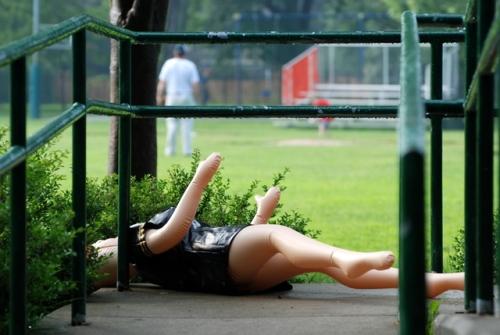 Playground oddity