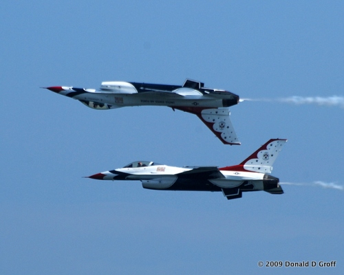 Thunderbirds, up and down