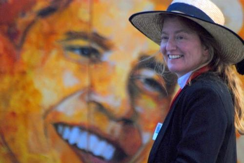 Rittenhouse art show artist Sally Anger