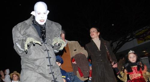 Halloween parade, Narberth, Pa., 10-30-09