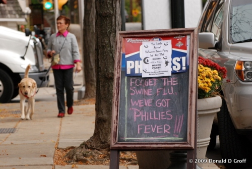 Phillies phever sign