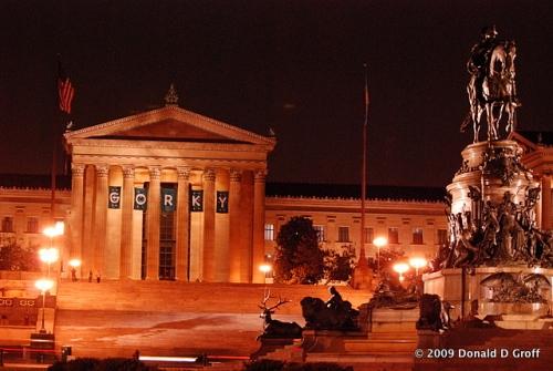 Philadelphia Museum of Art, November 2009