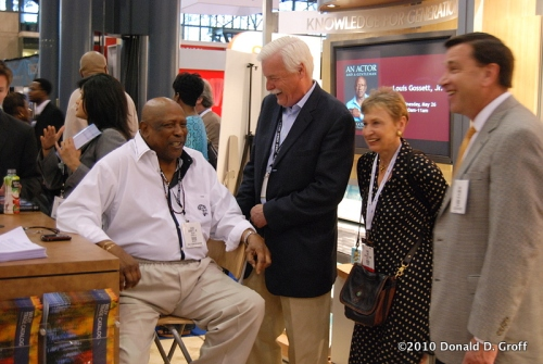 Lou Gossett Jr. at Book Expo, NYC, May 26, 2010