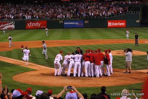 Carlos Ruiz game-winning home run, May 4, 2010
