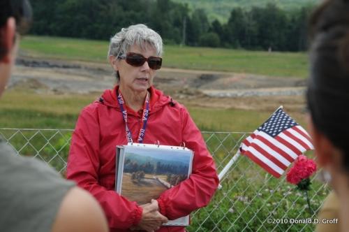 Flight 93 Memorial, August 2010