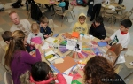 MLK service project: Valentines for the elderly