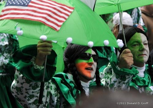 Froggy Brigade Mummer, Philadelphia, Jan. 1, 2011
