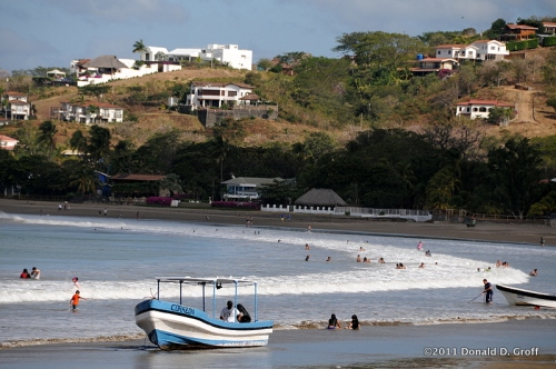 Bay at San Juan del Sur, Nicaragua, Jan. 30 2011
