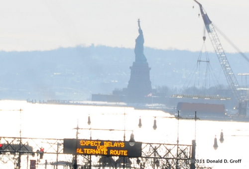 Statue of Liberty, under advisement