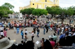Sunday afternoon dancing, town square, Granada, Nicaragua.
