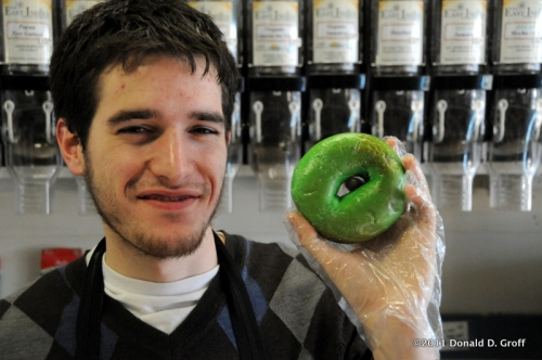 St. Patrick's Day Bagel, Cheese Company, Narberth, PA, USA