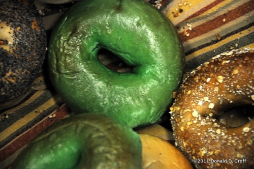 green bagels, st pat's day, cheese company, narberth, pa