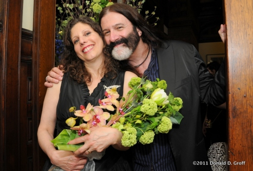 Ronda & Pierre, AIDS Law Project  fundraiser, May 12, 2011