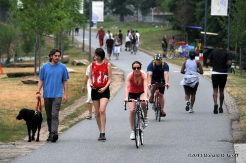 Schuylkill Banks trail, June 12, 2011