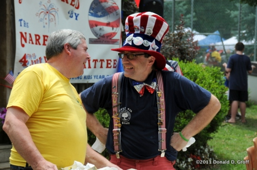 admirals of the realm, narberth july 4th, 2011