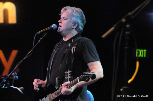 Tim Robbins at World Cafe Live on July 29, 2010