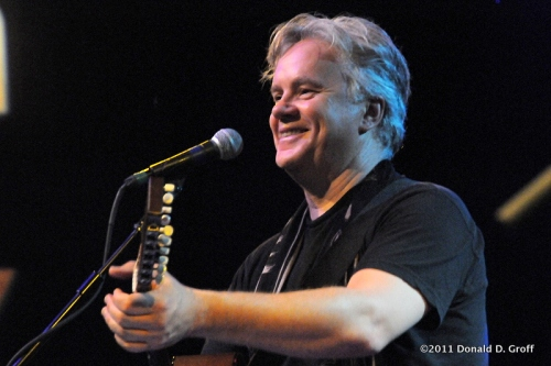 Tim Robbins at World Cafe Live on July 29, 2011