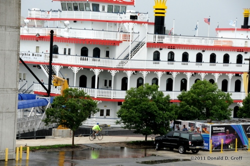 Philadelphia Belle, out of service, but not because of Irene