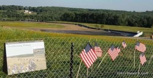 Flight 93 memorial takes shape, Somerset, PA, July 30, 2011