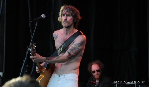 Tim Rogers, lead singer of You and I, at Bumbershoot 2011