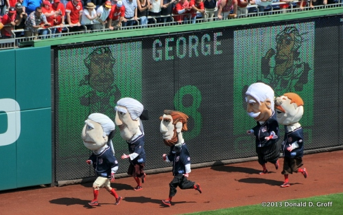 The popular race of the presidents. George won.